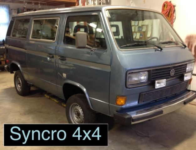 1986 VW Vanagon GL Syncro 4x4