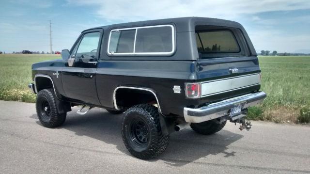 1987 Chevy K5 Blazer Silverado Lifted 33s No Rust Very Nice No