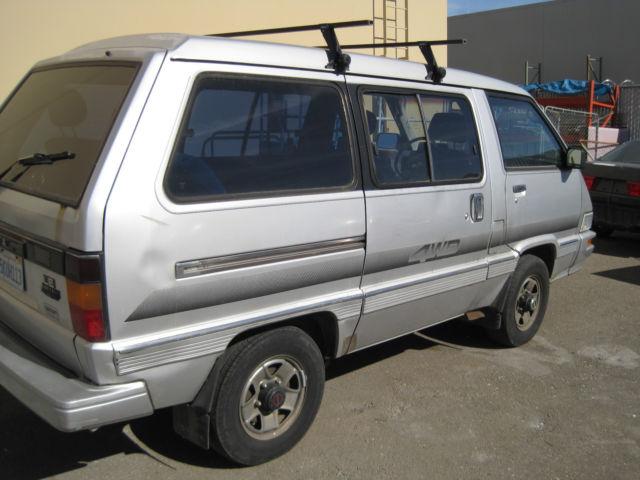 1987 toyota van wagon crg mini cargo van 3 door 2 2l. Black Bedroom Furniture Sets. Home Design Ideas