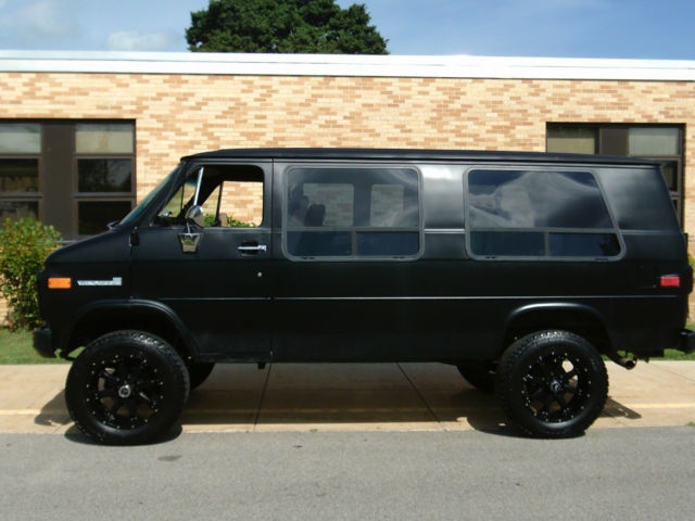 chevy 4x4 transmission with 506747 1988 Gmc Chevy 2500 Rally Vandura 4x4 Van on Watch furthermore 2016 Ford Raptor Release Date And Price further 1207mt 1999 Ford Ranger further 1975 CHEVROLET K5 BLAZER 187062 likewise 1964 Chevy Rat Rod Street Rod Patina Truck 619892.