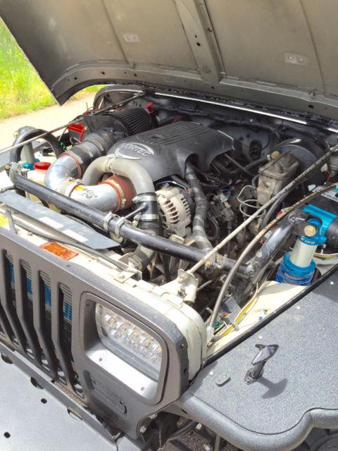1988 Jeep Wrangler YJ V8 4x4 5 3l Vortec Swap, Axle swap, King