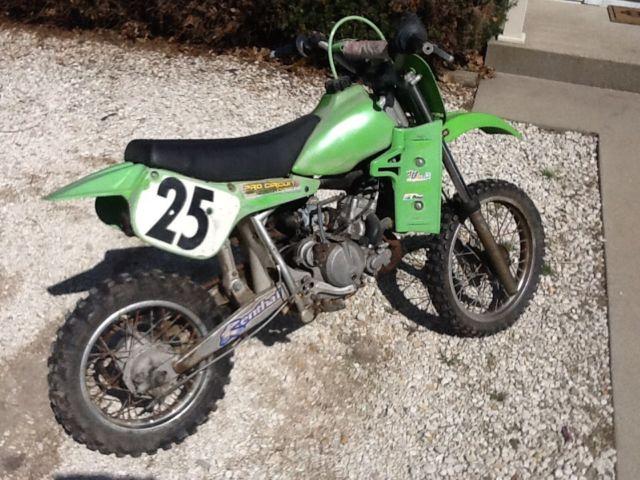 1988 Kawasaki 60 Cc Off Road Dirtbike Liquid Cooled DIRT BIKE Mini Bike 50 80