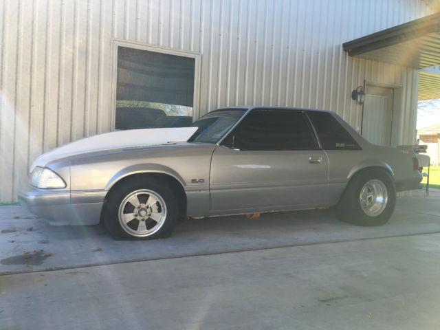 1988 mustang notch coupe lx fox body drag car