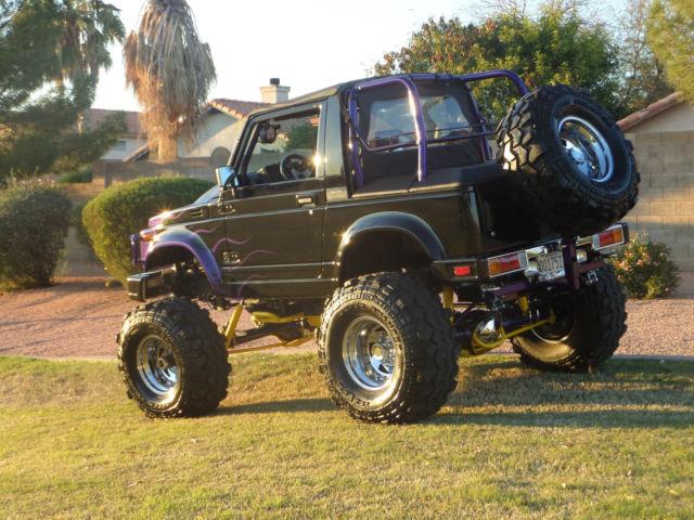 Black Suzuki Samurai For Sale