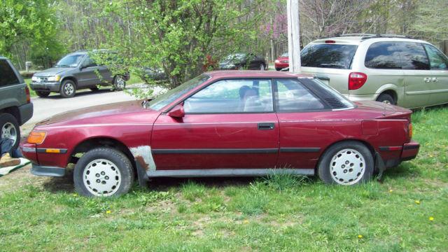 1988 Toyota Celica GTS Coupe 2-Door 4 cyl  5 speed
