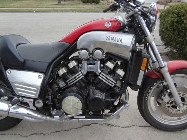 1988 yamaha v max vmax 1200 cc motorcycle low miles for Yamaha 1500 motorcycle