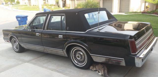 1989 Lincoln Town Car Signature Se Sedan 4 Door 5 0l