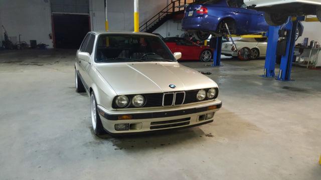 1990 BMW 325I E30 WITH S52 SWAP