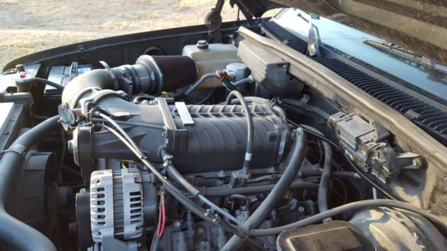 1990 chevy 454 ss 1500 truck with supercharger
