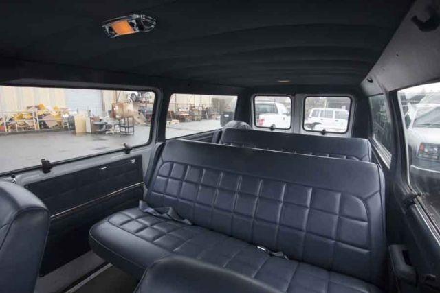 1990 Ford Club Wagon Van 72,813 Miles, 2 Rear Bench Seat ...