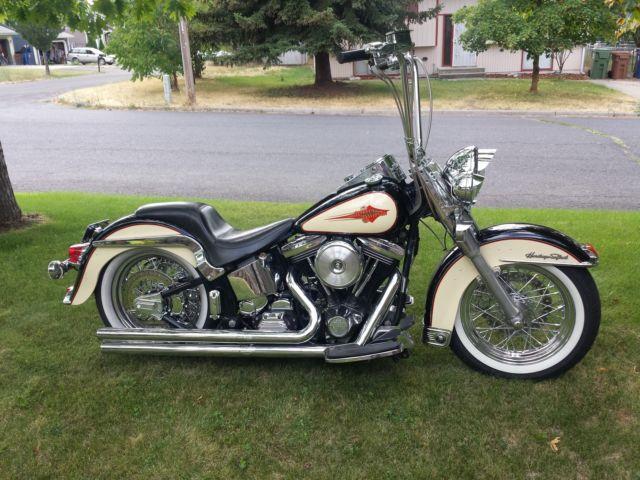 1990 Harley Davidson Heritage Softail Custom Chrome Lapera