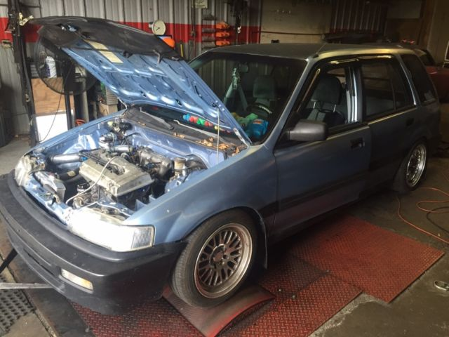 1990 Honda Civic Wagon B20v Turbo