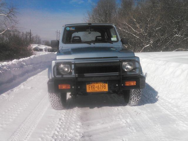 1990 Suzuki Samurai Jl  Purchased From Original Owner  70k