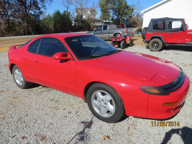 1990 toyota celica gt s red great condition 5 speed. Black Bedroom Furniture Sets. Home Design Ideas
