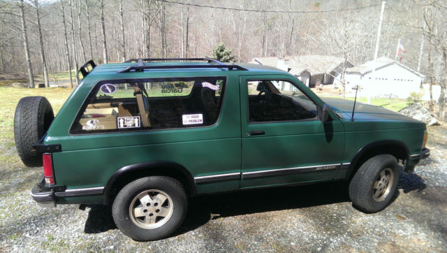 1991 Chevrolet S10 Blazer Base Sport Utility 2-Door 4 3L