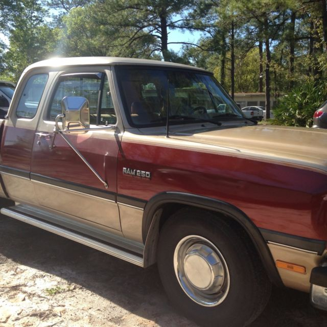 1992 D250 Dodge Extended Cab Cummins Florida