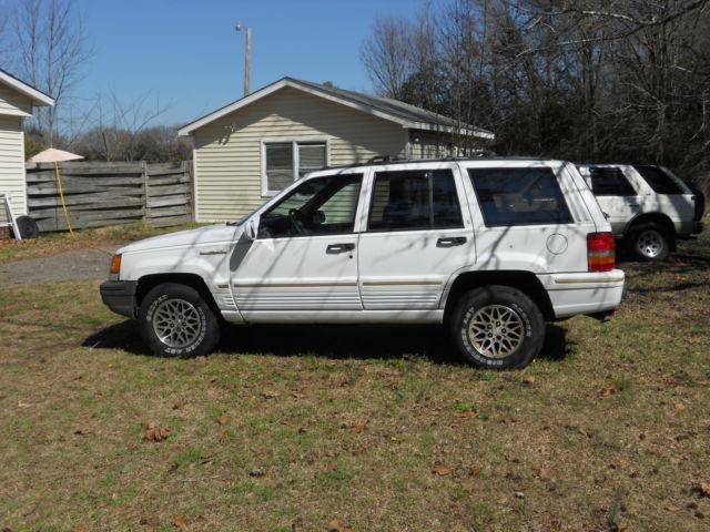 1993 jeep grand wagoneer wood trim