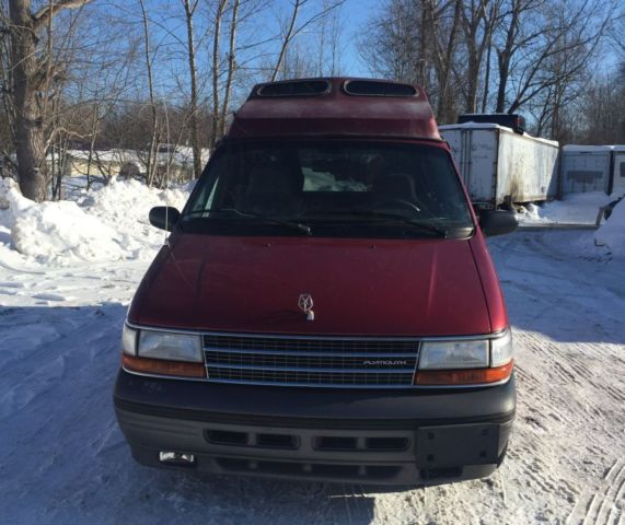1994 94 Plymouth Grand Voyager Handicap Accessible Mini Van 57K Wheelchair Ramp