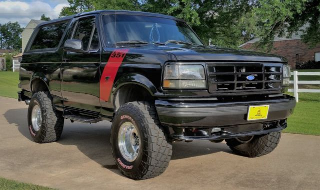 1994 ford bronco 351 xlt sport vehicles markets com