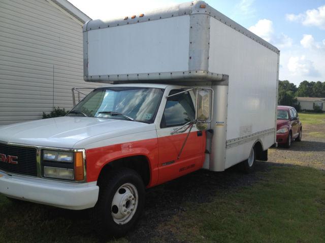1994 gmc box truck fuse box 1994 gmc 3500 box truck/u haul type bed with ramp.. runs ...