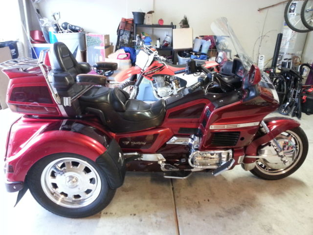 1994 honda gl1500 se gl 1500 goldwing gold wing lehman trike no reserve showroom. Black Bedroom Furniture Sets. Home Design Ideas