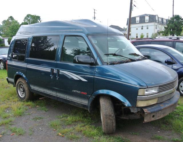 Mark III High Top Conversion Van 3 Door 43L For Parts 1995 Chevrolet Astro