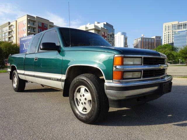 1995 chevrolet k1500 silverado ext cab v8 5 7l 4x4 auto tx no rust warranty. Black Bedroom Furniture Sets. Home Design Ideas