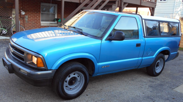 1995 Chevrolet S10 Regular Cab 2wd With 40 000 Actual Miles