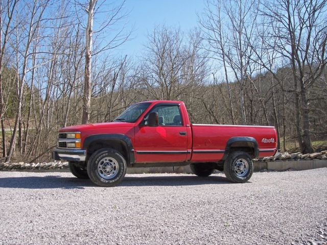 Chevy X Single Cab Long Bed Loaded With Cold Ac Very Nice Very Clea on 1995 Chevy Silverado Idler Arm