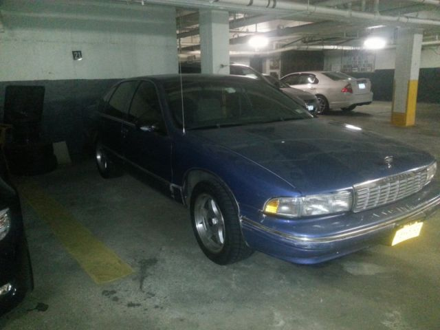 1995 CHEVY CAPRICE 9C1 POLICE PACKAGE