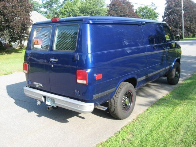 1995 Chevy G30 Van  1 Ton