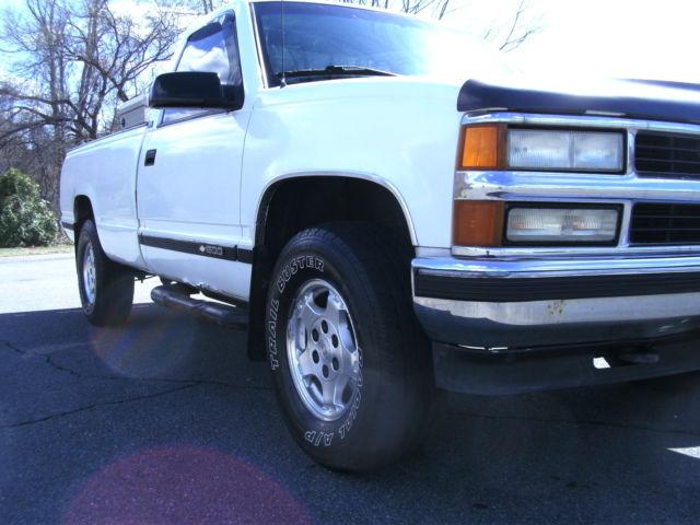 1995 Chevy K1500 Cheyenne 4x4 5 7l 350 V8 Regular Cab Long