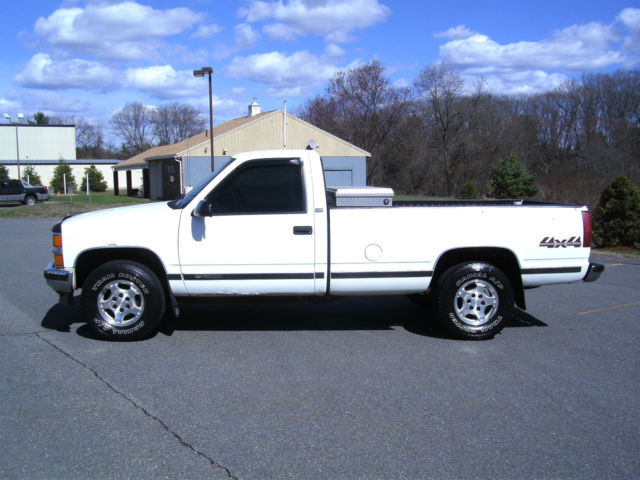 Chevy K Single Cab Long Bed