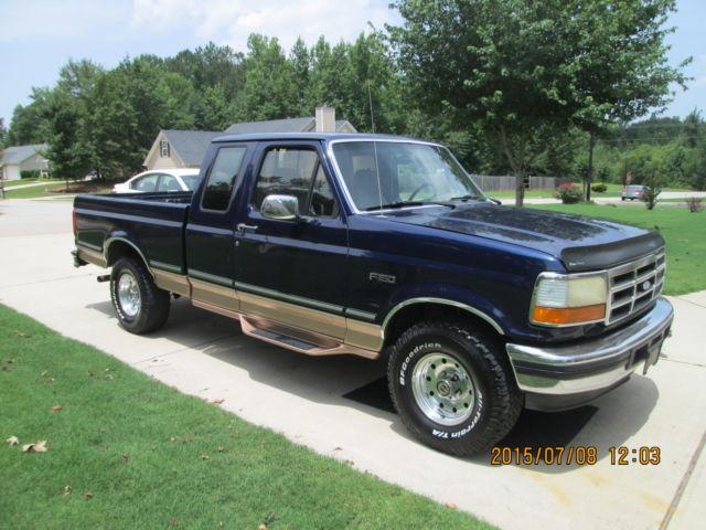 1995 ford f 150 xlt extended cab pickup 2 door 4 9l. Black Bedroom Furniture Sets. Home Design Ideas