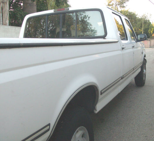 1995 Ford F350 Crew Cab Transmission: 1995 Ford F-350 XLT 4DR CREW CAB LONG BED PICKUP TRUCK W