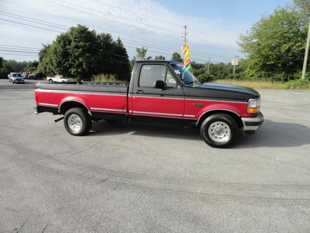 1995 ford f150 special regular cab 5 0 truck long wheel base one owner no rust. Black Bedroom Furniture Sets. Home Design Ideas