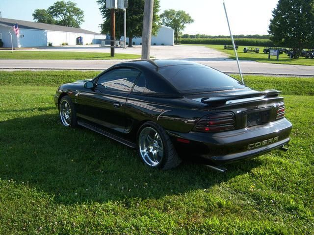 1995 ford mustang cobra removable hardtop convertible. Black Bedroom Furniture Sets. Home Design Ideas