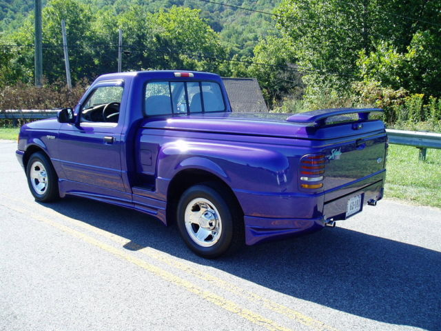 1995 ford ranger splash 36k miles one of a kind. Black Bedroom Furniture Sets. Home Design Ideas