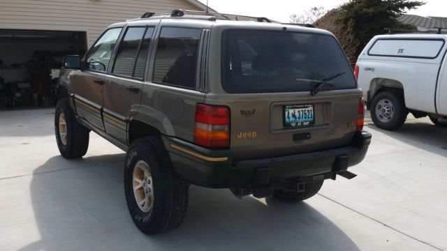 1995 Grand Cherokee Limited 4x4 Lifted