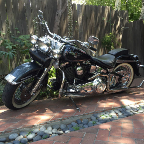 Used Harley Davidson Wheels >> 1995 HARLEY DAVIDSON FLSTN SOFTAIL HERITAGE NOSTALGIA