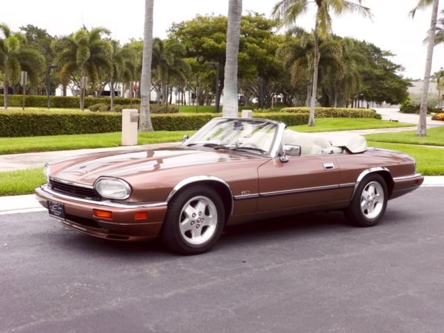 1995 Jaguar Xjs Convertible 4 0l One Year Only Color And 37 000 Miles