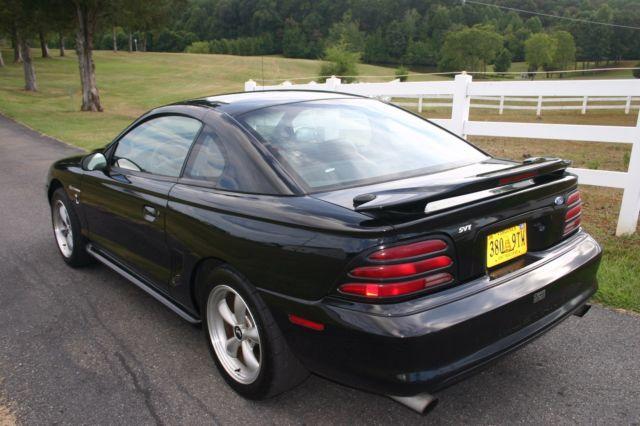 1995 mustang cobra gt 5 speed modified supercharged 550 hp 44k original mi. Black Bedroom Furniture Sets. Home Design Ideas
