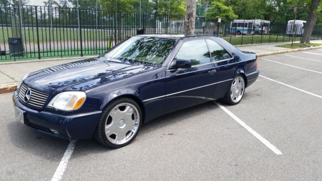 1995 s500 coupe 28k original miles parts only title for Mercedes benz s500 parts