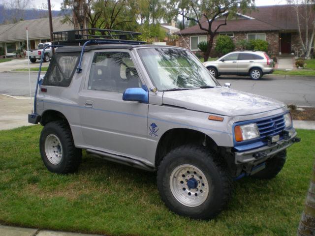 Suzuki Sidekick Wheel Size