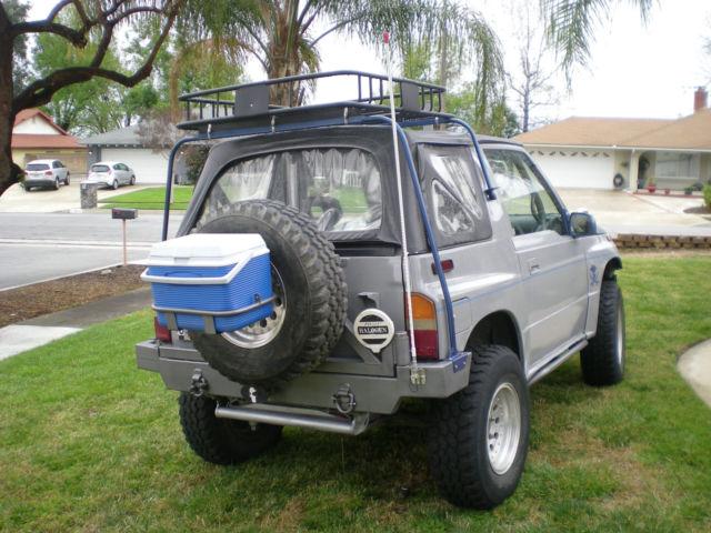 Suzuki Sidekick Roof Rack