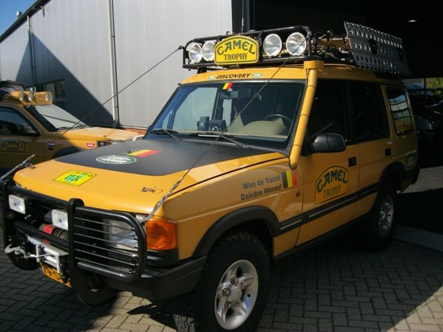 1996 Camel Tophy Land Rover 300 Tdi Discovery
