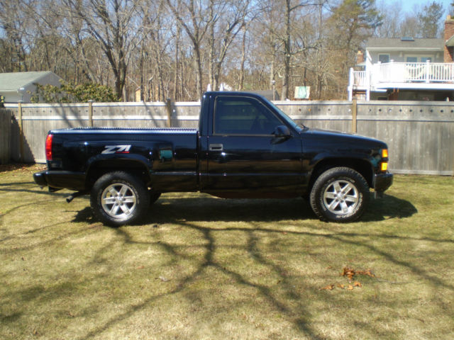 1996 chevrolet silverado z71 stepside 4x4. Black Bedroom Furniture Sets. Home Design Ideas