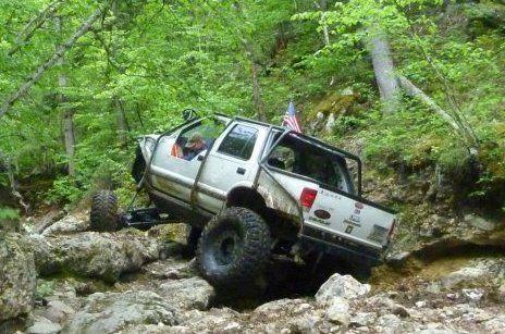 "1996 chevy s10 blazer rock crawler 1tons doubler 42"" tires"