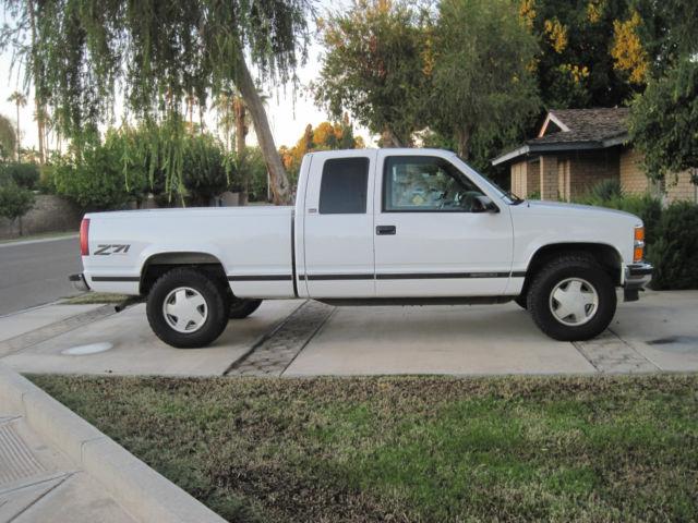 1996 Chevy Silverado 1500 4x4 Extended Cab Low Miles Arizona Truck