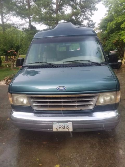 1996 ford conversion van high top
